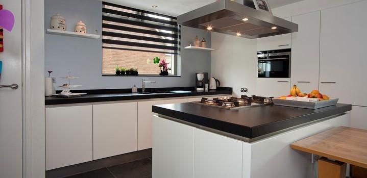 Mooie Keuken Modellen : Keuken greeploos wit Handgemaakt ? Grando Keukens & Bad Zaandam