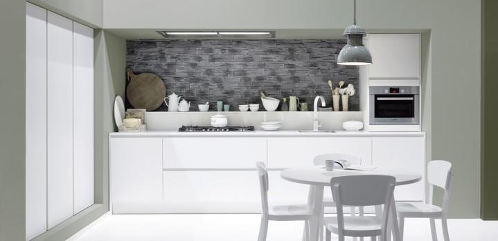 Achterwand witte hoogglans keuken ~ consenza for .