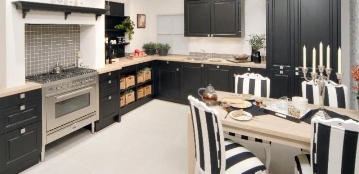 Keuken Van Grando Zwart Wit Cubic : Keuken Sierra Landelijk Modern ...