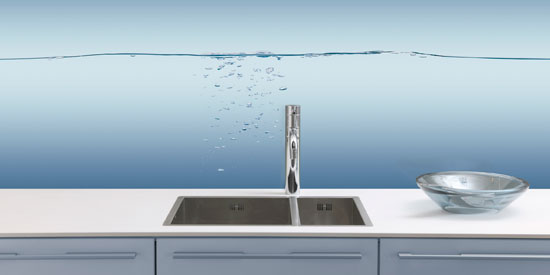 Glas Tegen Achterwand Keuken : Keuken achterwanden bij Grando Keukens & Bad Zaandam
