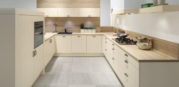 Witte Keuken In Prachtige Ruime Opstelling : Keuken Lisio Living ...