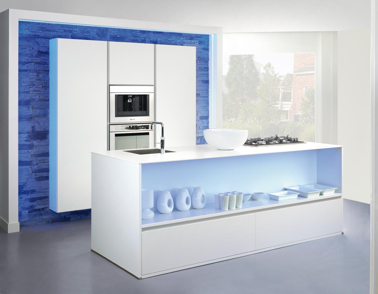 Glazen Achterwand Keuken Zaandam : Moderne keukens Grando Keukens & Bad Zaandam