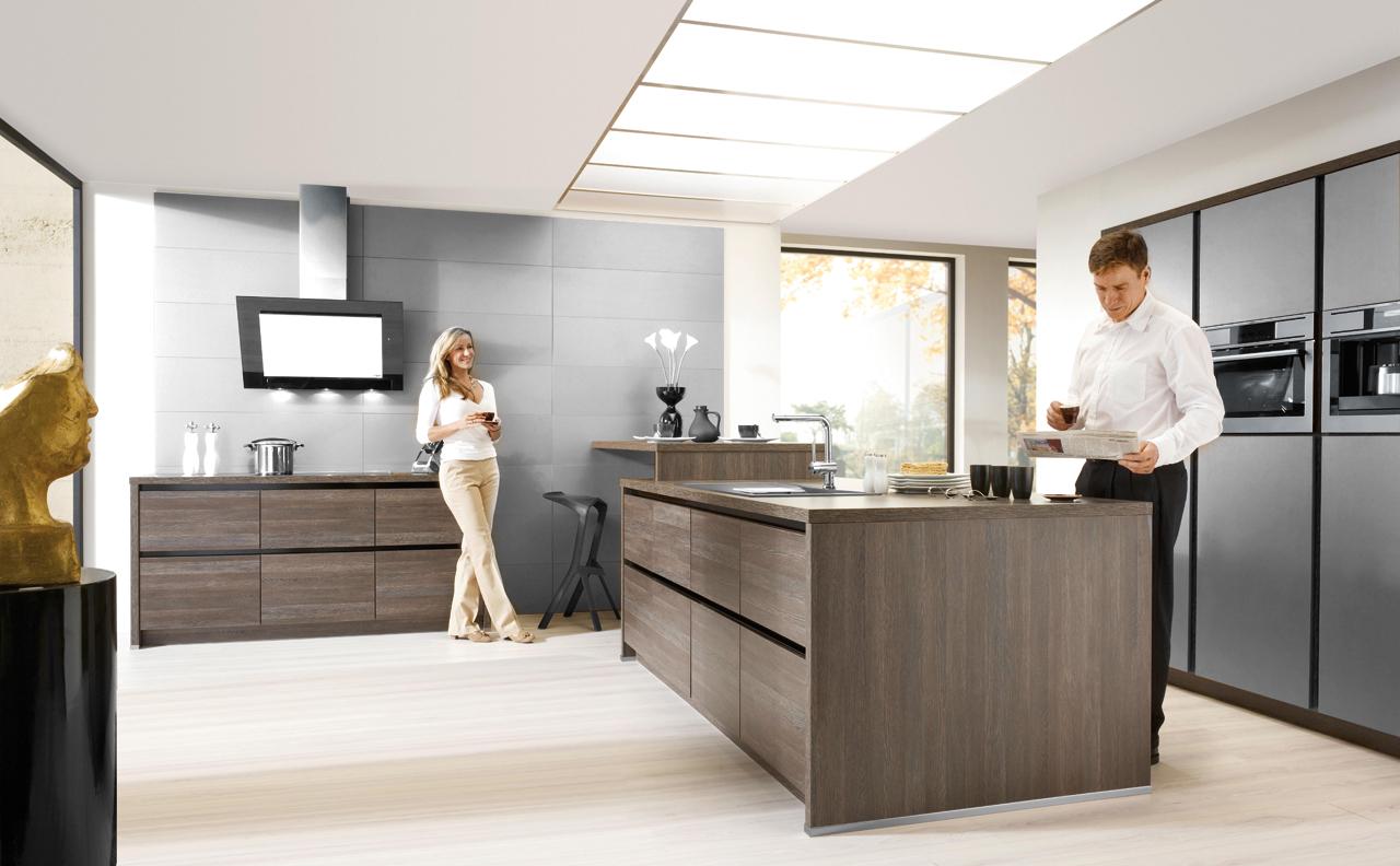 Moderne Keuken Zwart : Moderne keukens - Grando Keukens & Bad Zaandam